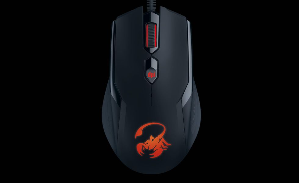 MOUSE OPTICO GX GAMING AMMOX PRETO 3200dpi X1-400 USB GENIUS