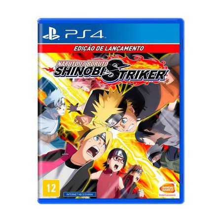 JOGO NARUTO TO BORUTO SHINOBI STRIKER  PS4