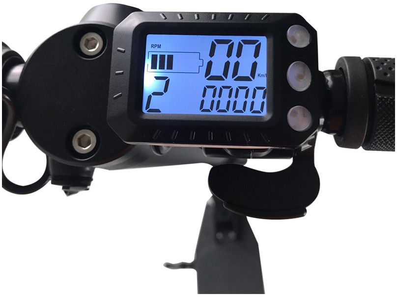 Patinete Elétrico Freego ES06C 24km/h Bateria Recarregável Preto