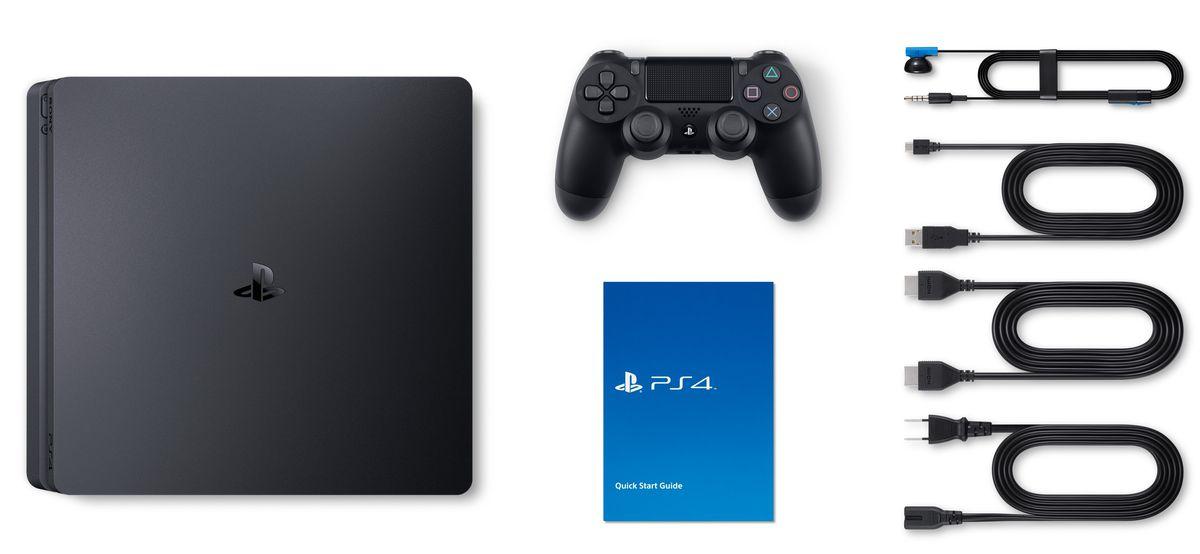 Playstation 4 Slim 500GB com jogo Fifa 18 Americano