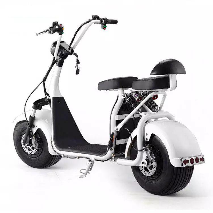 Scooter Elétrico e-FUN ELETRICS e-X7 BRANCA 2000w Moto