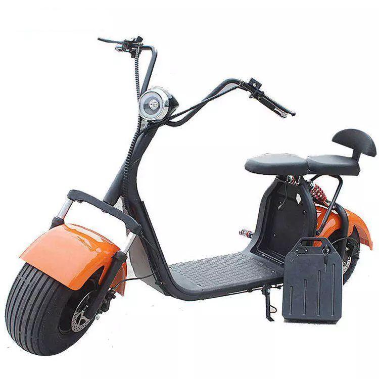 Scooter Elétrico e-FUN ELETRICS e-X7 Laranja metalico 2000w Moto