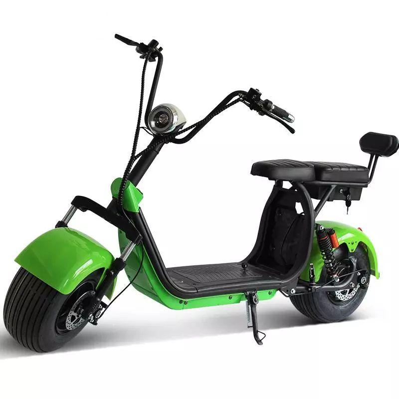 Scooter Elétrico e-FUN ELETRICS e-X7 VERDE NEON 2000w Moto