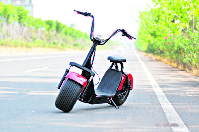 Scooter Eletrico Harley Moto Eletrica 2000w 50km -  Laranja