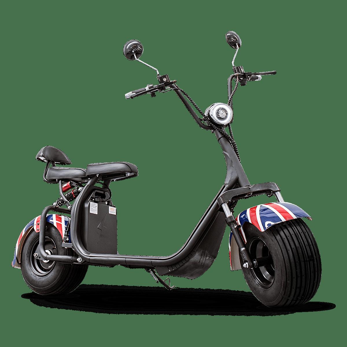 Scooter Elétrico Moto Eletrica Adulto 2000w Bateria Removível