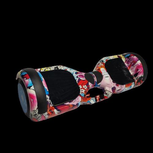 Skate Elétrico Hoverboard 6.5' Yakuza Bluetooth e LED - Bateria Samsung - Smart Balance