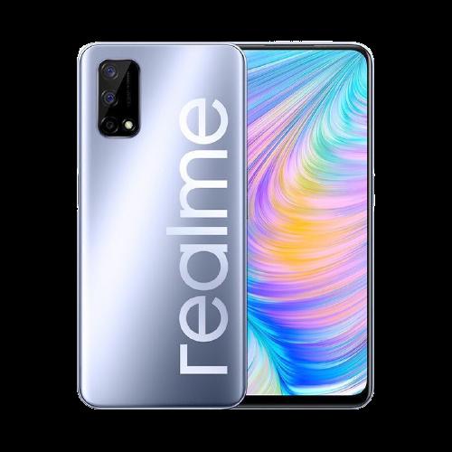 Smartphone Realme 7 5G 128GB 5G Wi-Fi Tela 6.5'' Dual Chip 6GB RAM Câmera Quádrupla + Selfie 16MP - Flash Silver