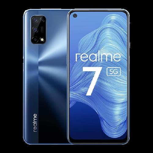 Smartphone Realme 7 5G 128GB 5G Wi-Fi Tela 6.5'' Dual Chip 6GB RAM Câmera Quádrupla + Selfie 16MP - Mist Blue