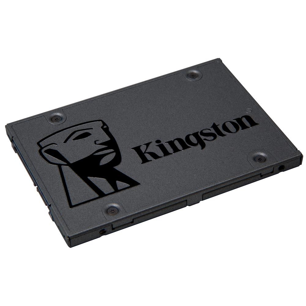 SSD Kingston 2.5´ 120GB A400 SATA III Leituras: 500MBs / Gravações: 320MBs - SA400S37/120G