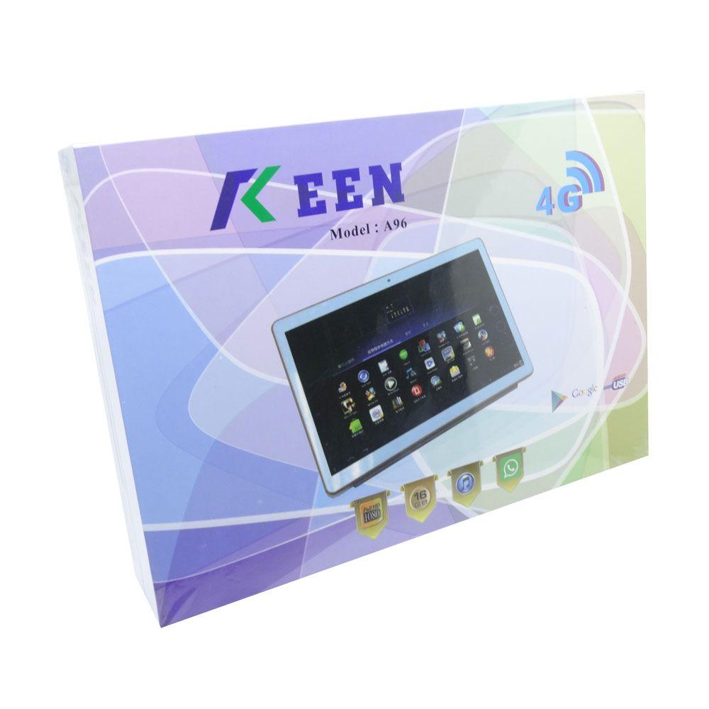 """TABLET KEEN A96 9.6"""" DUAL SIM 16GB BRANCO"""