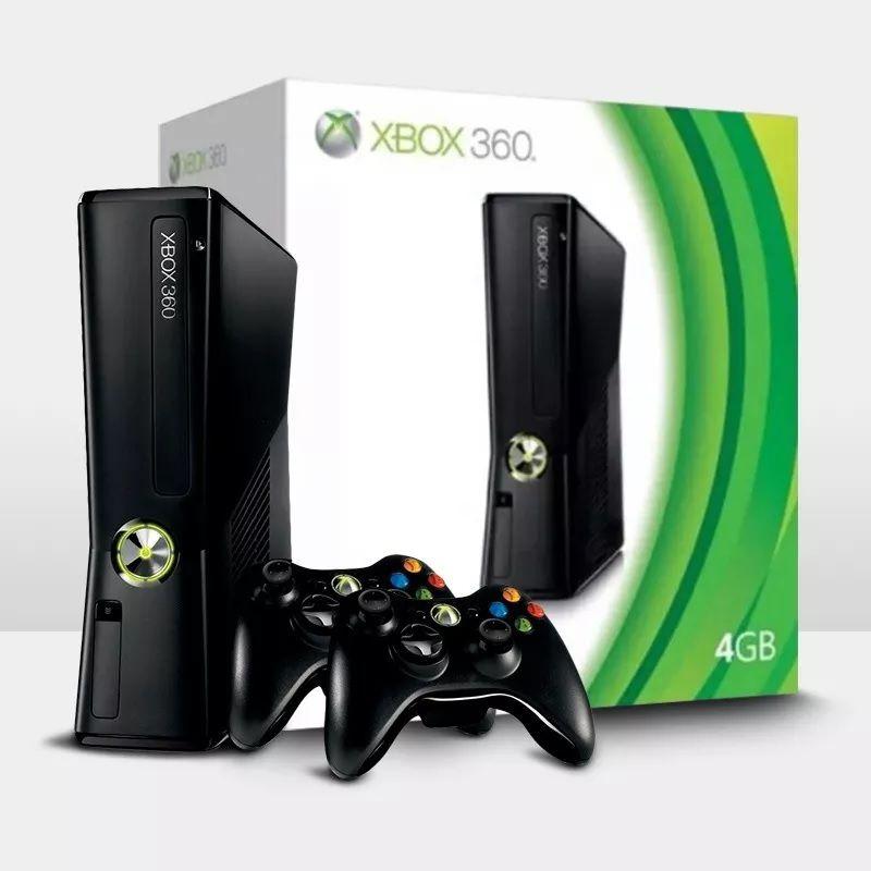 Xbox 360 4GB Seminovo + CONTROLE ADICIONAL