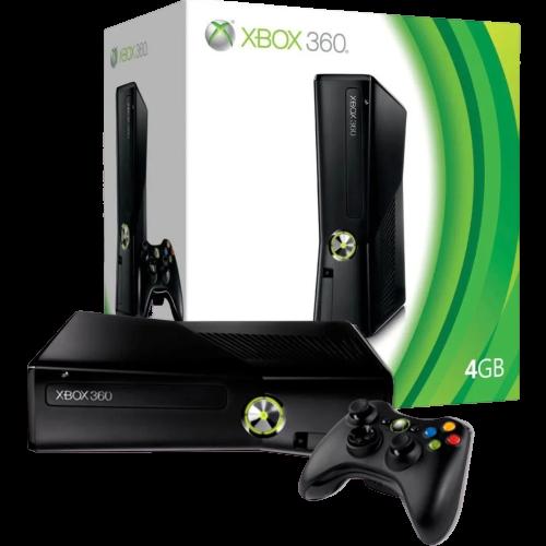 Xbox 360 Slim 4GB (Semi novo)