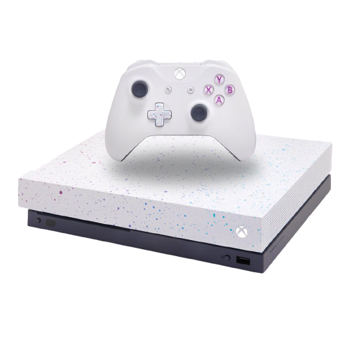 Xbox One X 1TB Console – Hyperspace Special Edition