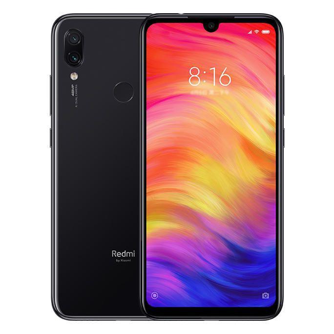 """Xiaomi Redmi Note 7 32GB + FONE DE OUVIDO SEM FIO GRÁTIS -  4G / DUAL SIM / TELA 6.3"""" / CÂMERAS 48MP + 5MP E 13MP / 3GB DE RAM - PRETO"""