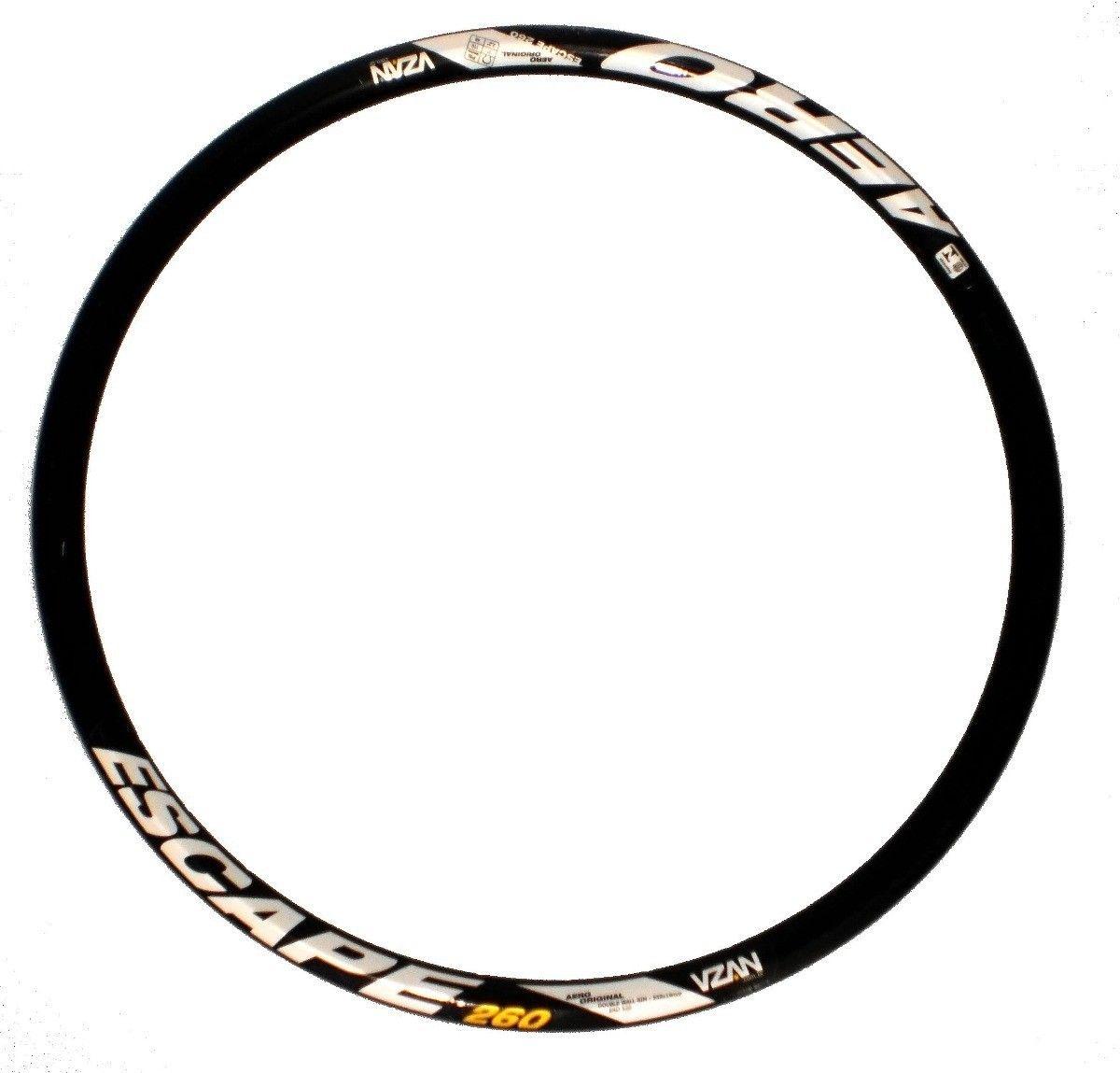 Aro Vzan 26 Bicicleta Aero Escape 36 Furos Disc