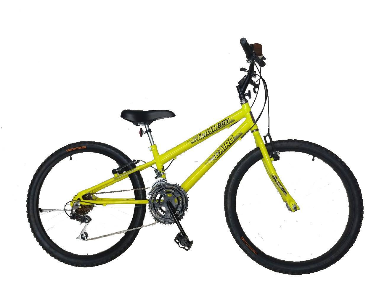 Bicicleta 24 Infantil Ciclo Cairu Flash boy 21 machas