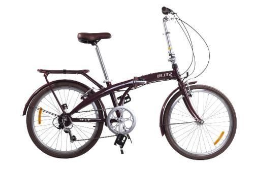 Bicicleta Aro 24 Dobravel Blitz