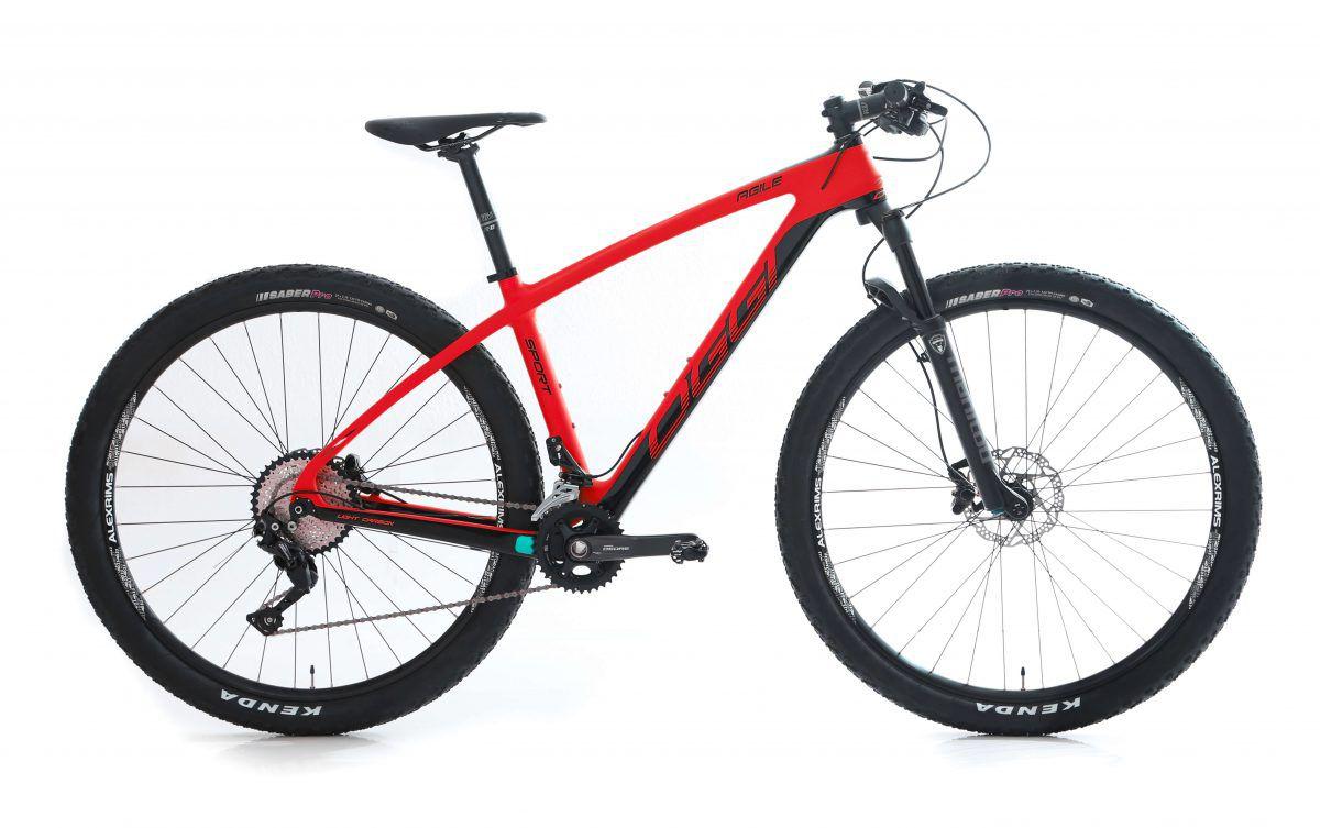 Bicicleta Aro 29 Oggi Agile Sport Carbon  2019