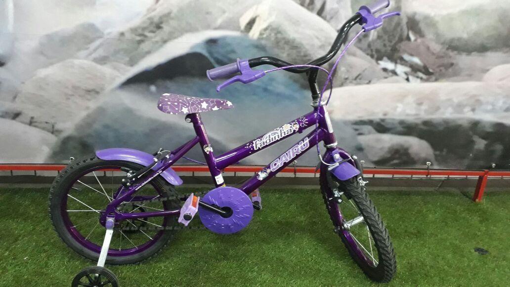 Bicicleta Cairu Aro 16 Fadinha