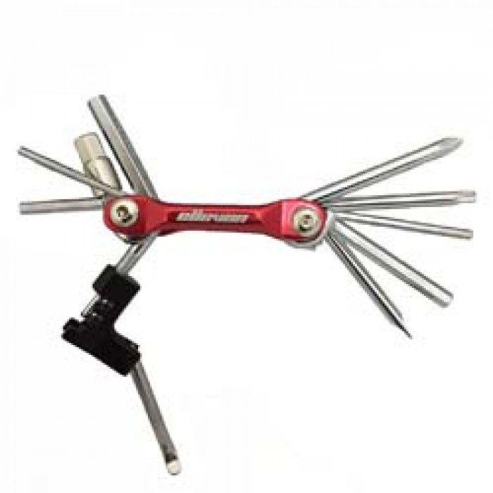 Canivete Chaves 11 Ferramentas Elleven Para Bicicletas