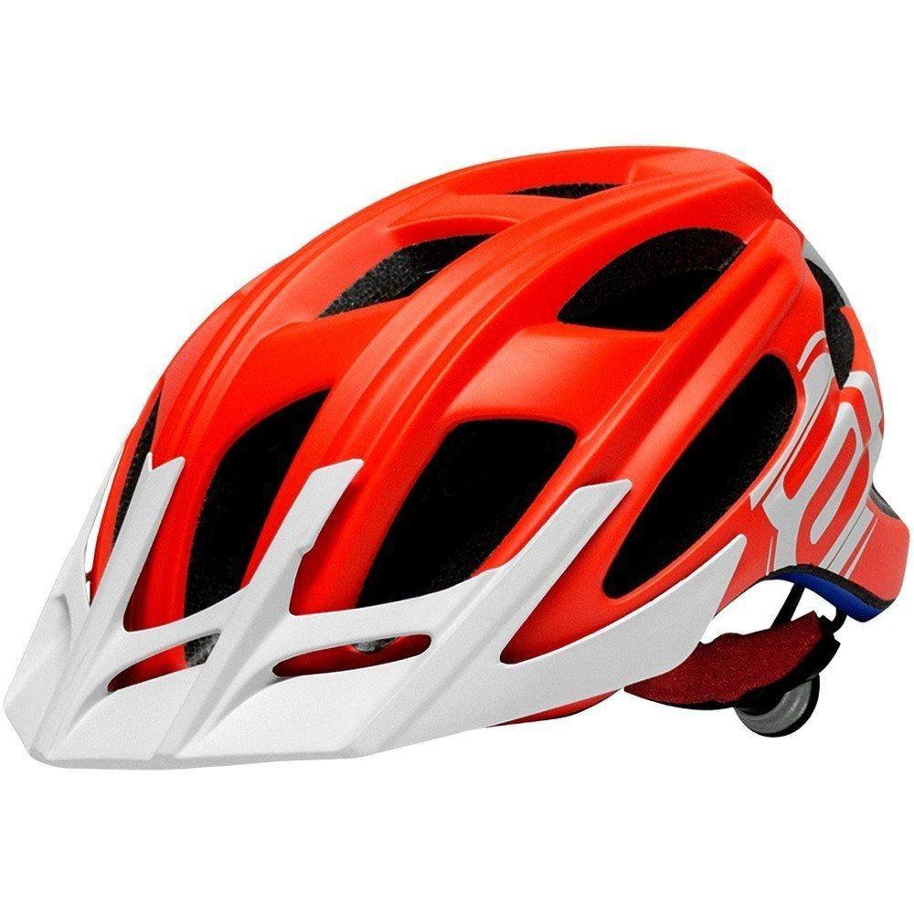 Capacete Ciclismo Asw Rocky 2018 Mtb Laranja Tm M