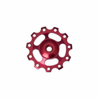 Roldana Para Câmbio Alumínio Kl-4011 Vermelho