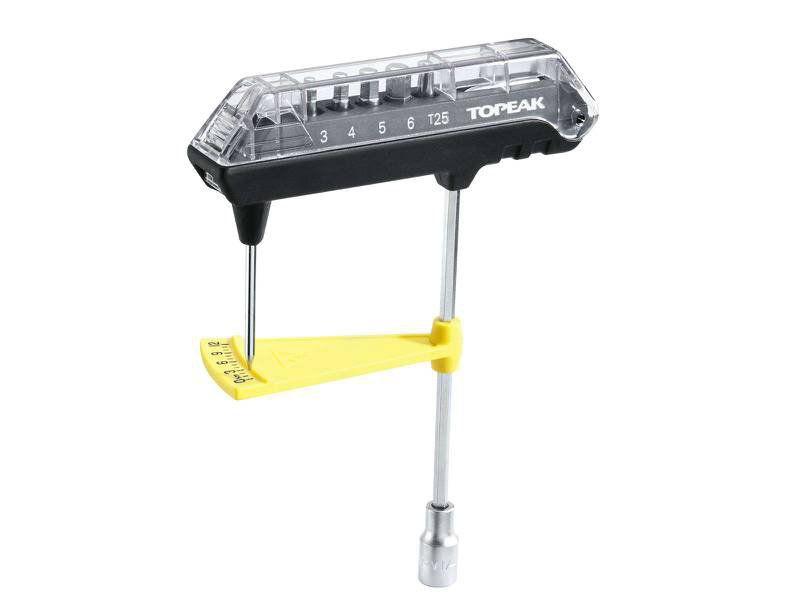 Torquímetro Analógico Topeak Combotorq Wrench 1-12N