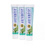 Kit 3 Pasta Dental Natural Ayurvédica Fresh Mint (menta fresca) Auromère