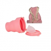 Kit Korui Coletor Menstrual e Copo Esterilizador