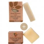 Kit Shampoo e Condicionador Sólido Ares de Mato - cabelos secos, cacheados e danificados