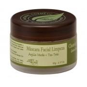 Máscara Facial de Limpeza Argila Verde Arte dos Aromas – 90g