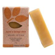 Sabonete Natural Artesanal Vegano Ares do Mato 115g - Buriti e Laranja Doce