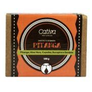 Sabonete Vegetal Pitanga Cativa Natureza - 100g