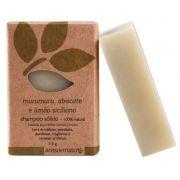 Shampoo Sólido Natural Vegano de Murumuru Ares de Mato 115g - Cabelos normais e mistos