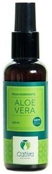 Água Hidratante Natural de Aloe Vera Cativa Natureza - 120 ml