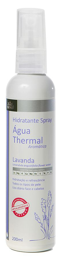 ÁGUA THERMAL LAVANDA 200ML E 60ML - WNF