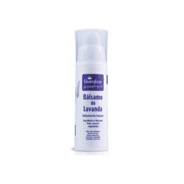 Bálsamo de Lavanda Hidratante Facial Natural Livealoe - 30ml