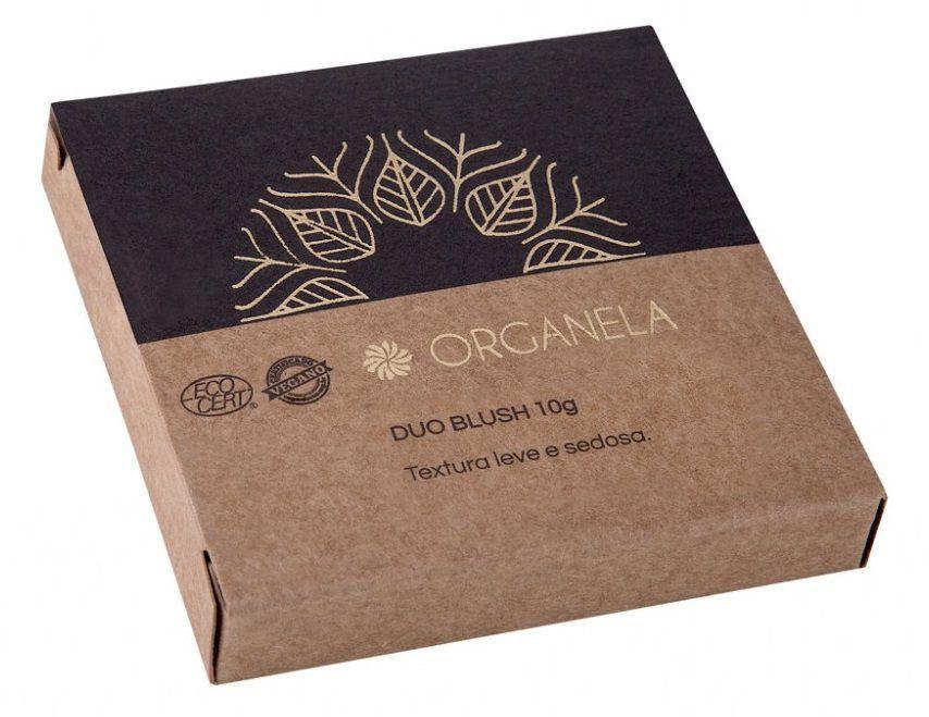 Blush Duo Natural Orgânico Vegano Organela - 10g