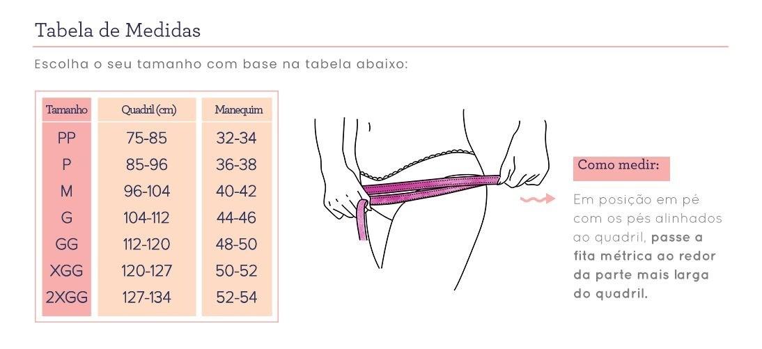 Calcinha Absorvente Korui Nude - XGG
