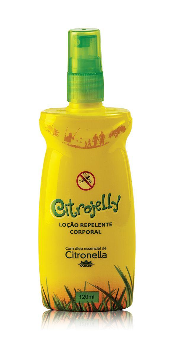 Citrojelly Loção Repelente Corporal Spray WNF - 120ml