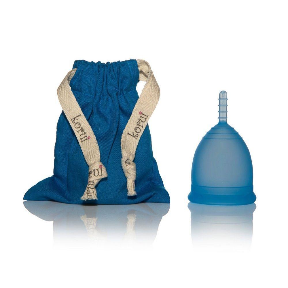 Coletor Menstrual Korui - Oceano (azul)