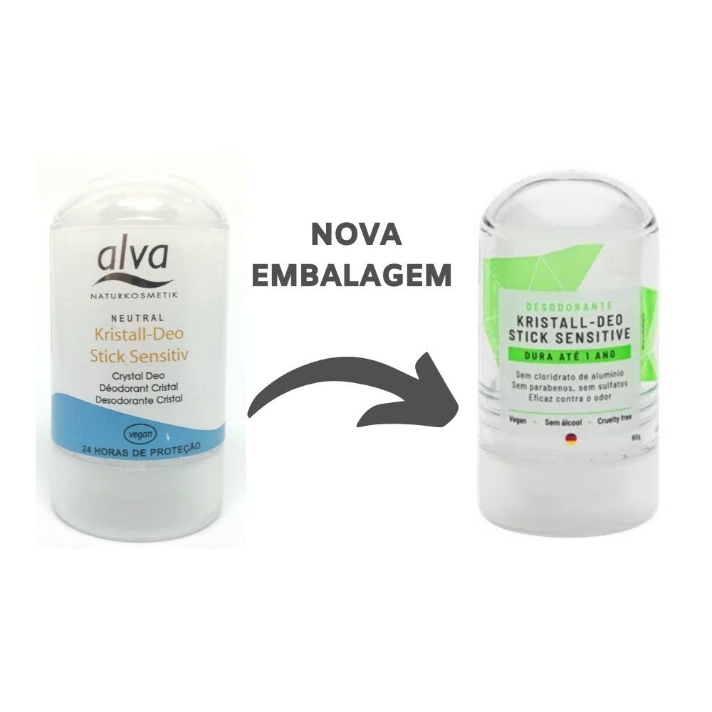 Desodorante Alva Kristall Stick - 60g