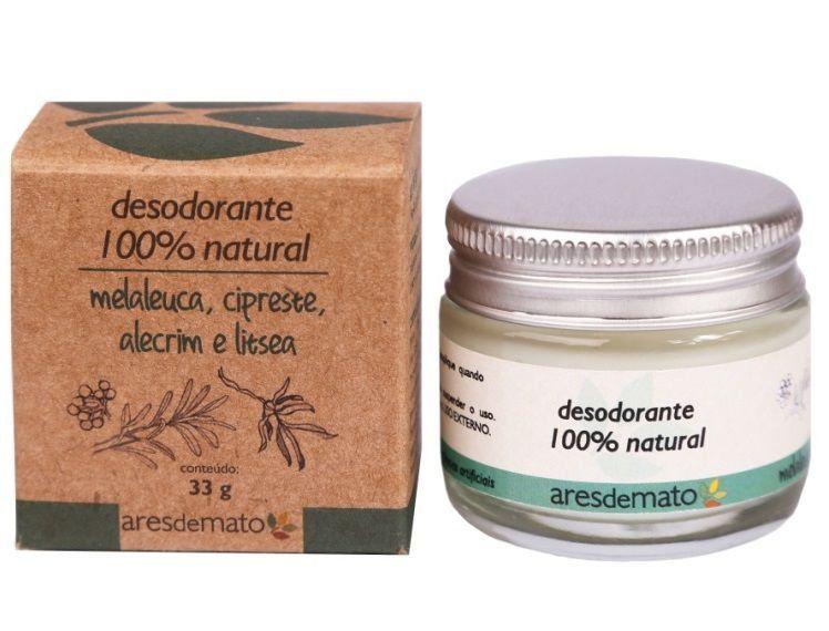 Desodorante Natural Vegano em Creme Ares de Mato - 33g