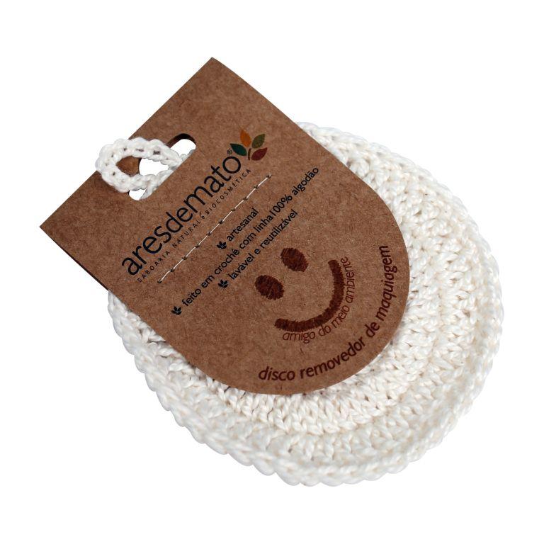 Disco de Crochê Reutilizável Eco Pad Ares do Mato