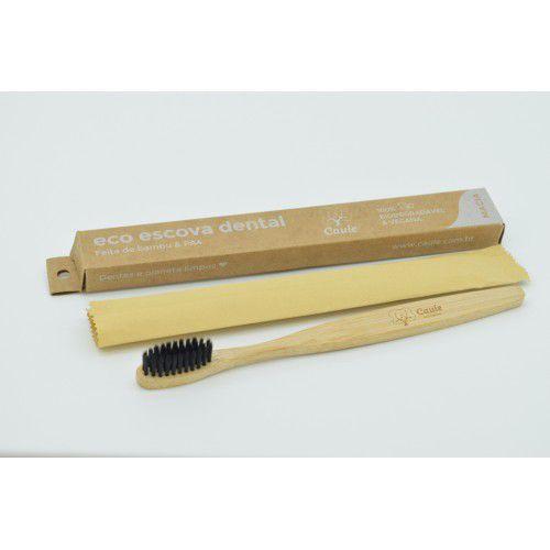 Escova Dental de Bambu Biodegradável Caule - 3 unidades