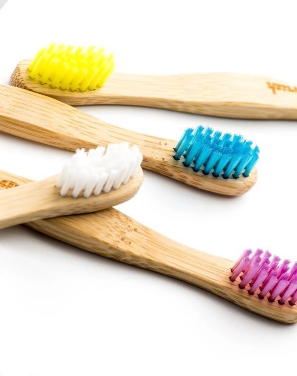 Escova dental de bambu infantil The Humble