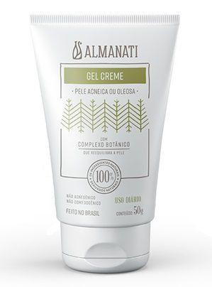 Gel Creme Facial Pele Acneica ou Oleosa Almanati - 50g