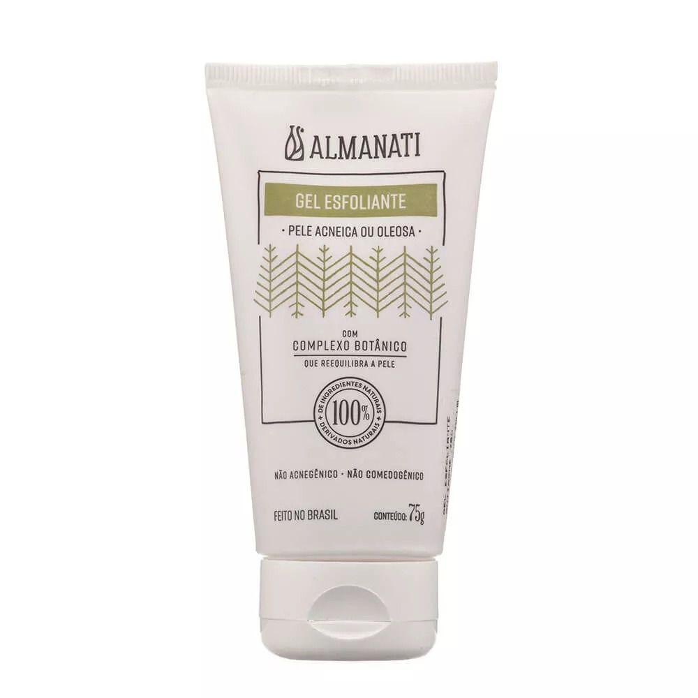 Gel Esfoliante Facial Pele Acneica ou Oleosa Almanati - 75g