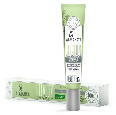 Gel hidratante natural uso local Almanati - 15g