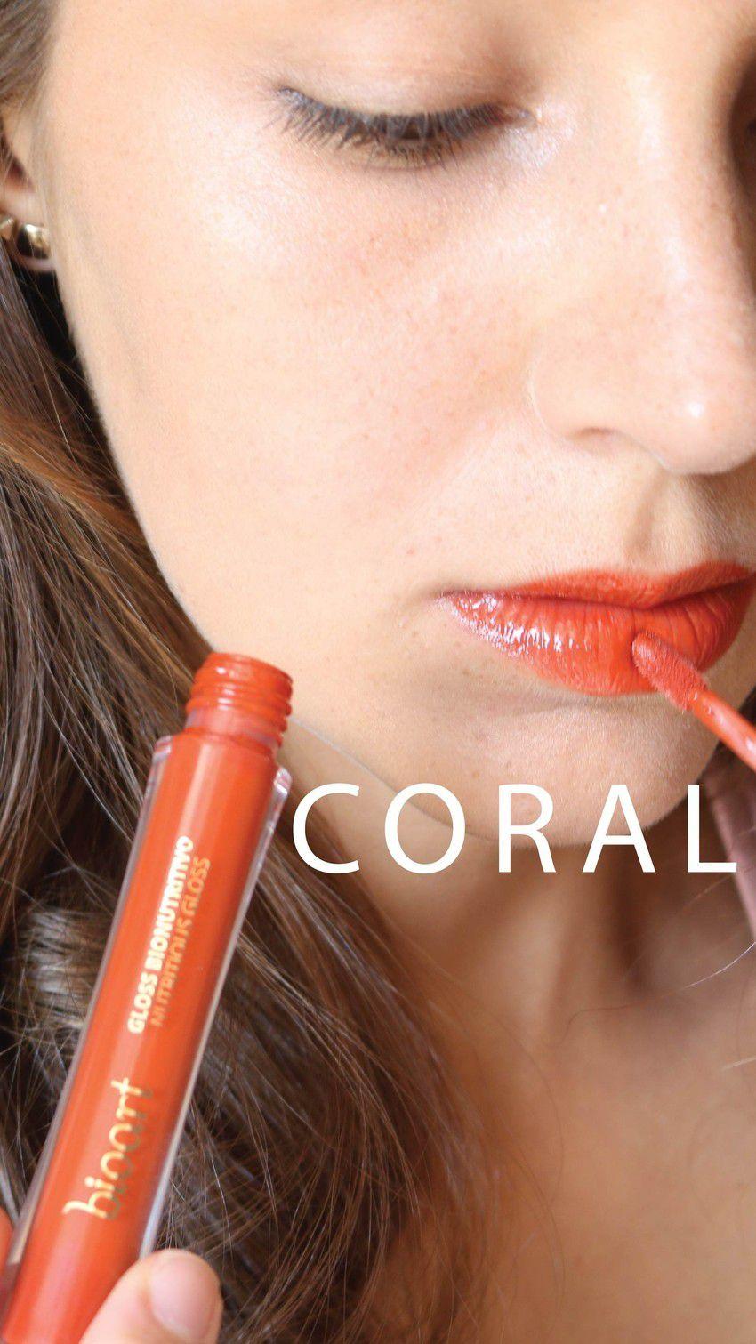 Gloss Bionutritivo Bioart Coral - 4ml